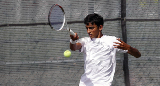 Tech tennis team grabs consolation title off racket of Jain in Elon, N.C.