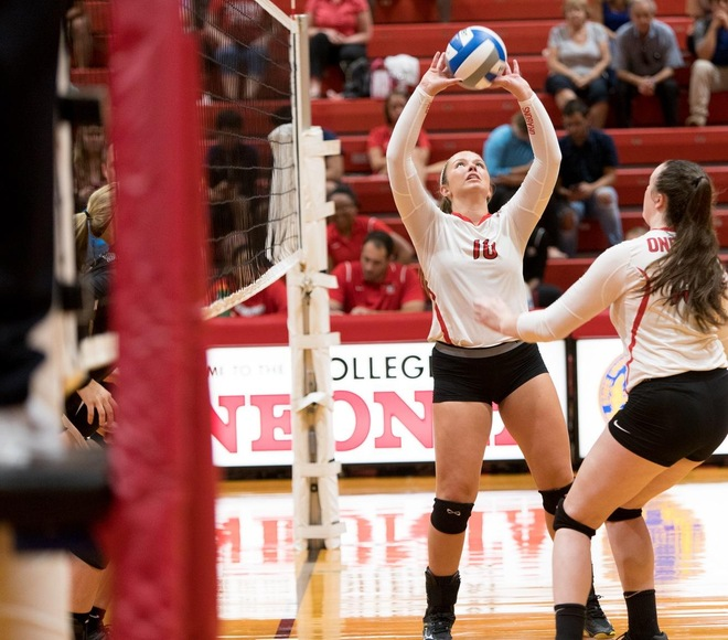 Oneonta's Fowler named this week's Volleyball Athlete of the Week