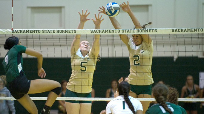 VOLLEYBALL SECURES HUGE HOME VICTORY OVER PORTLAND STATE