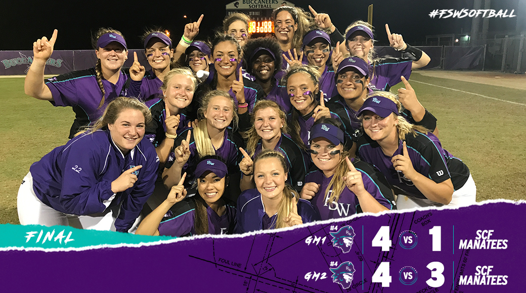 #FSWSoftball Captures Second Straight Conference Title On Sophomore Day