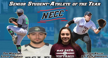 Muratore Named NECC Student-Athlete of the Year