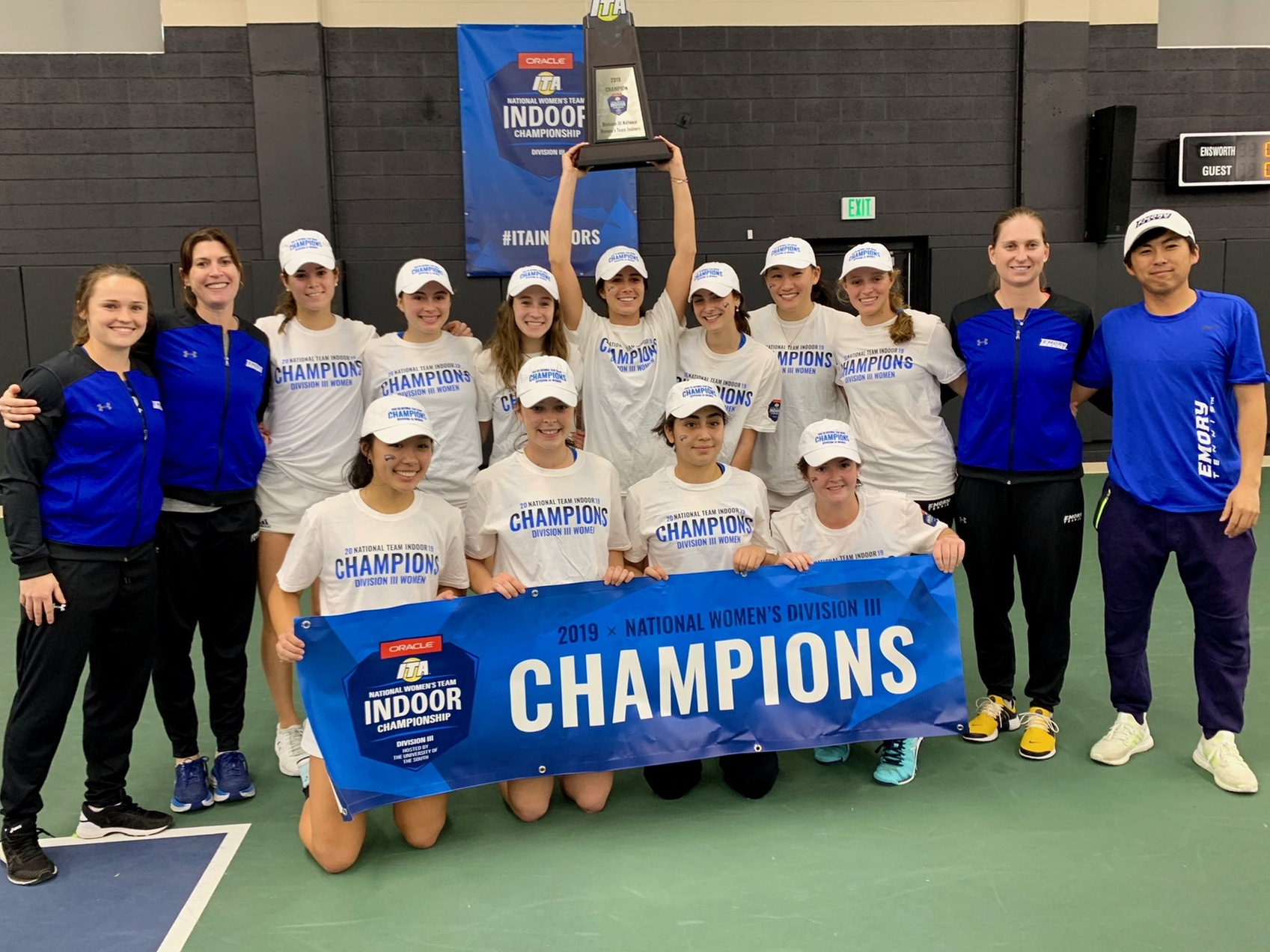 2018-19 Women's Tennis Season Recap