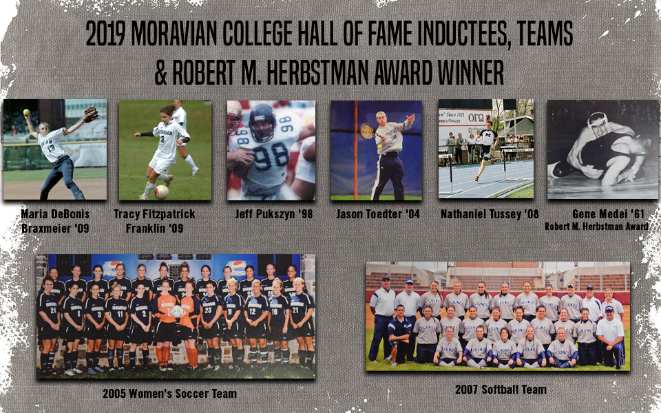 2019 Moravian Hall of Fame Inductees announced