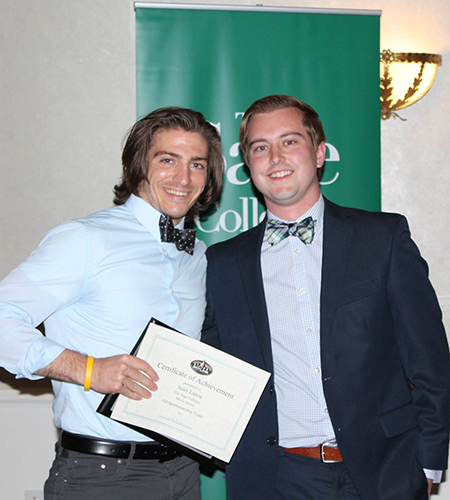 Sage's Sean Lanza Named Gator of the Year in Men's Soccer