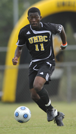 Levi Houapeu is UMBC's third College Soccer News' All-American