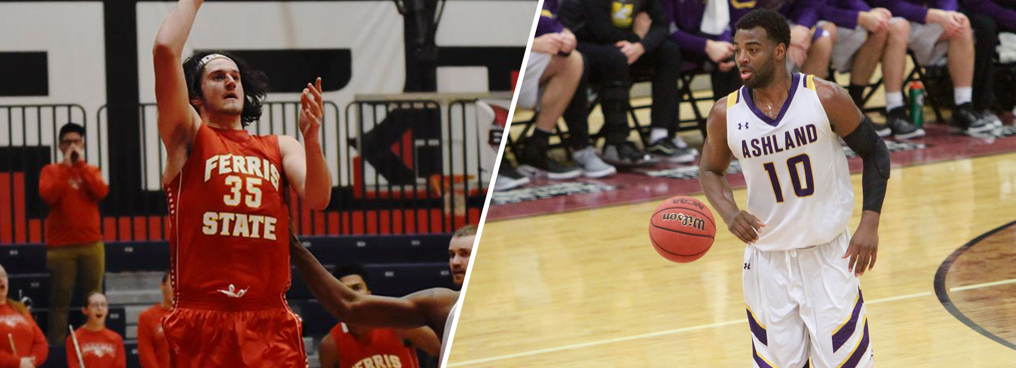 Ferris State's Hankins, Ashland's Davis Claim GLIAC Player of the Week Honors