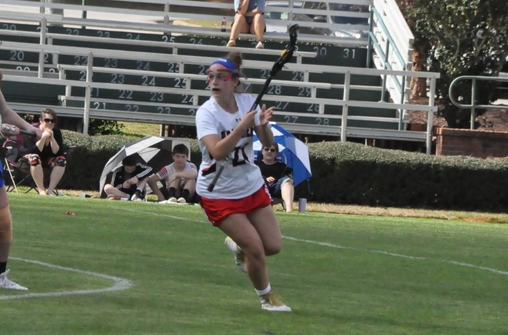 Lacrosse: LaCavera scores 100th career goal in Panthers' loss to Greensboro