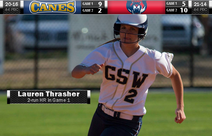 Thrasher's Home Run Takes Win In Game 1 In Series Split
