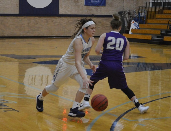 Two Double-Doubles Lead Westminster Women's Basketball Over Fontbonne