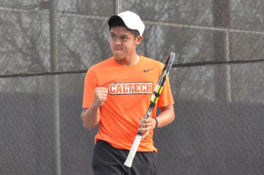 Men's Tennis Moves into Tie for Second in SCIAC