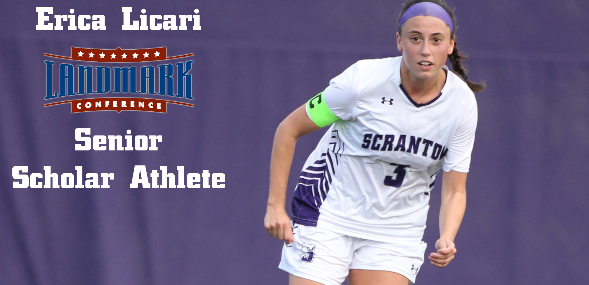 Licari Named Landmark Conference Senior Scholar Athlete for Women's Soccer