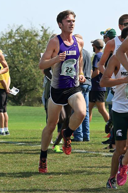 Andrew Bill, Albion, Men's Cross Country Athlete of the Week 9/25/17