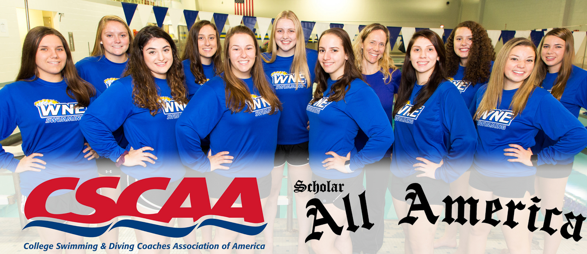 WNE Swimming Named CSCAA Scholar All-America Team for Fall Semester