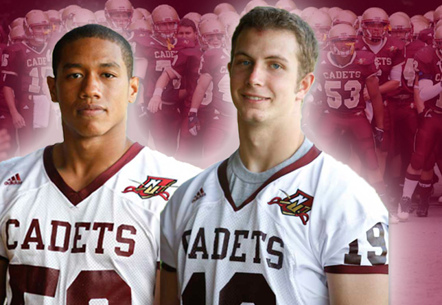Football: Delgado, Hanks Named 2013 Captains