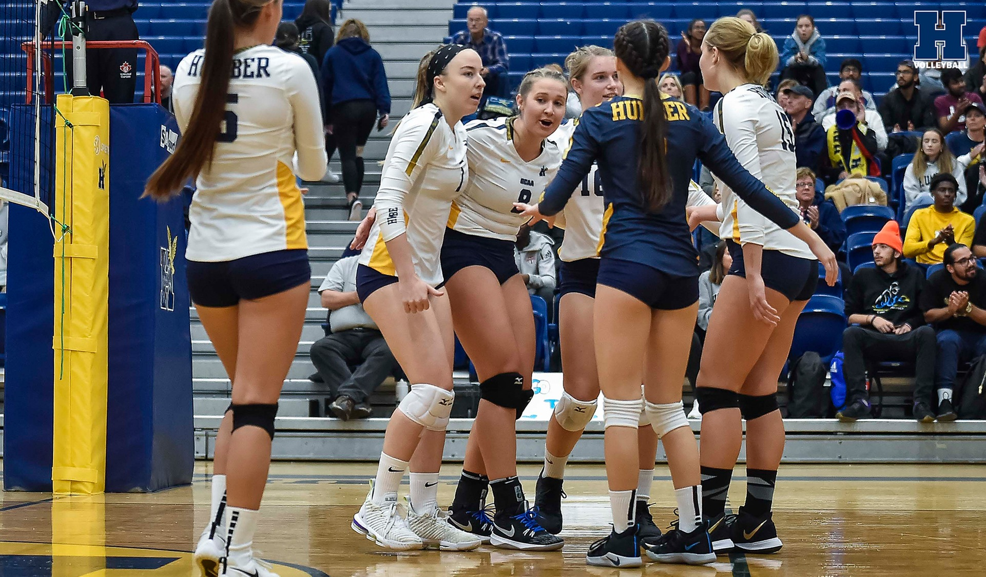 Women's Volleyball Sweeps Niagara in Home Opener, 3-0