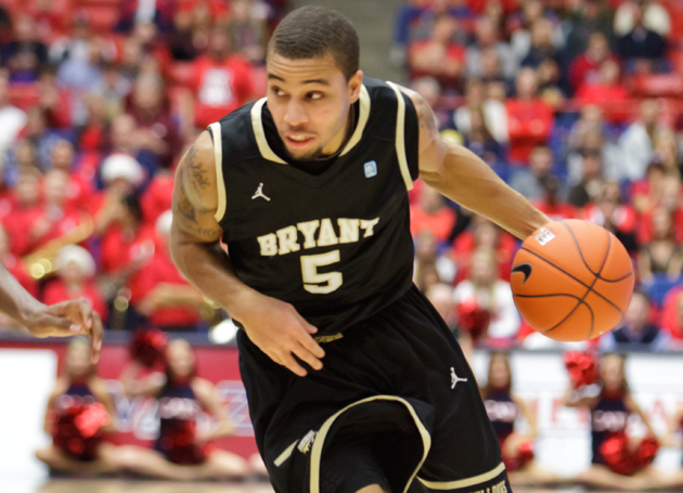 Bryant stuns Lehigh, 80-79, on road