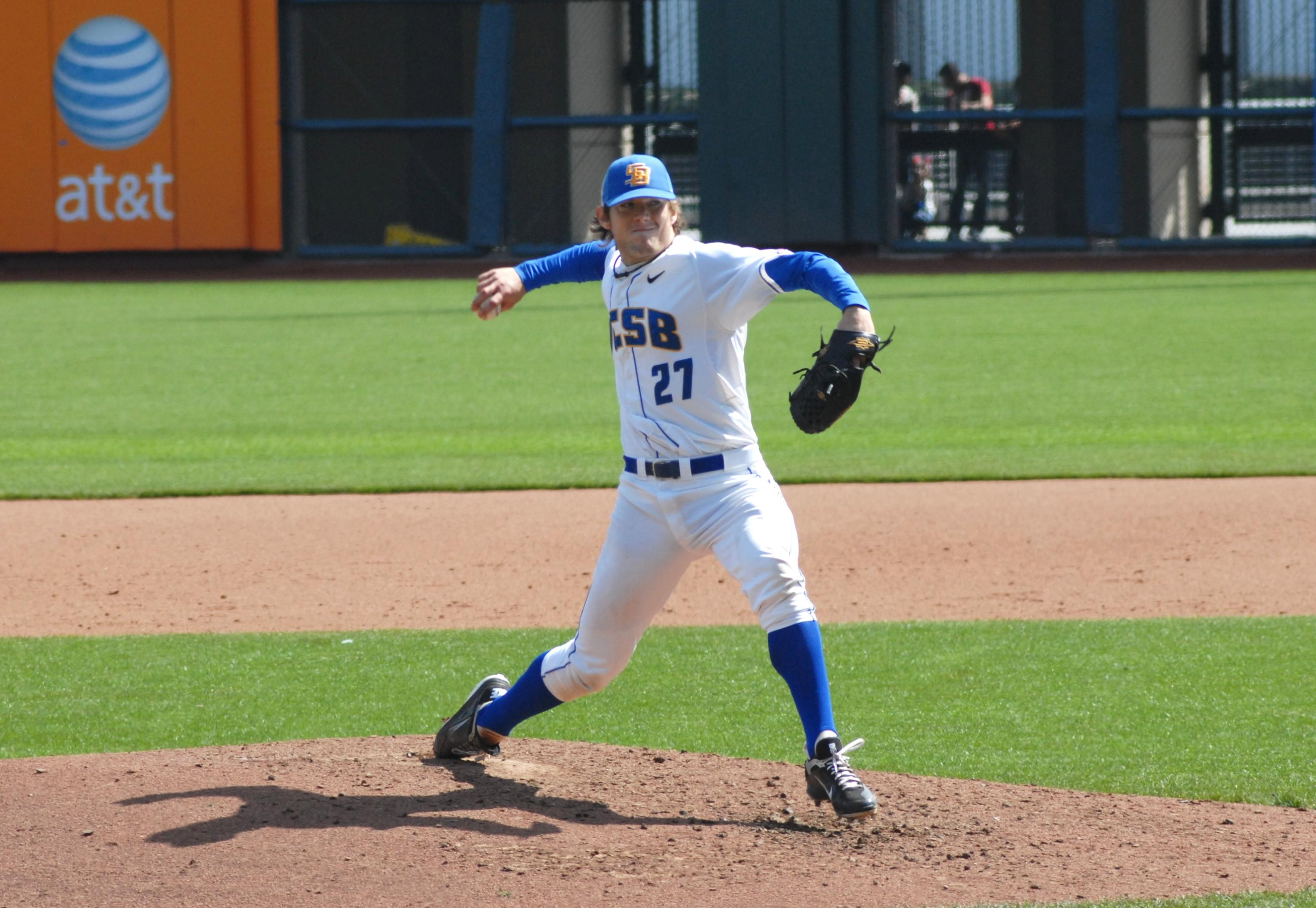 Vedo Supplies the Pitching, Whyte Supplies the Power as UCSB Blanks Pacific, 5-0