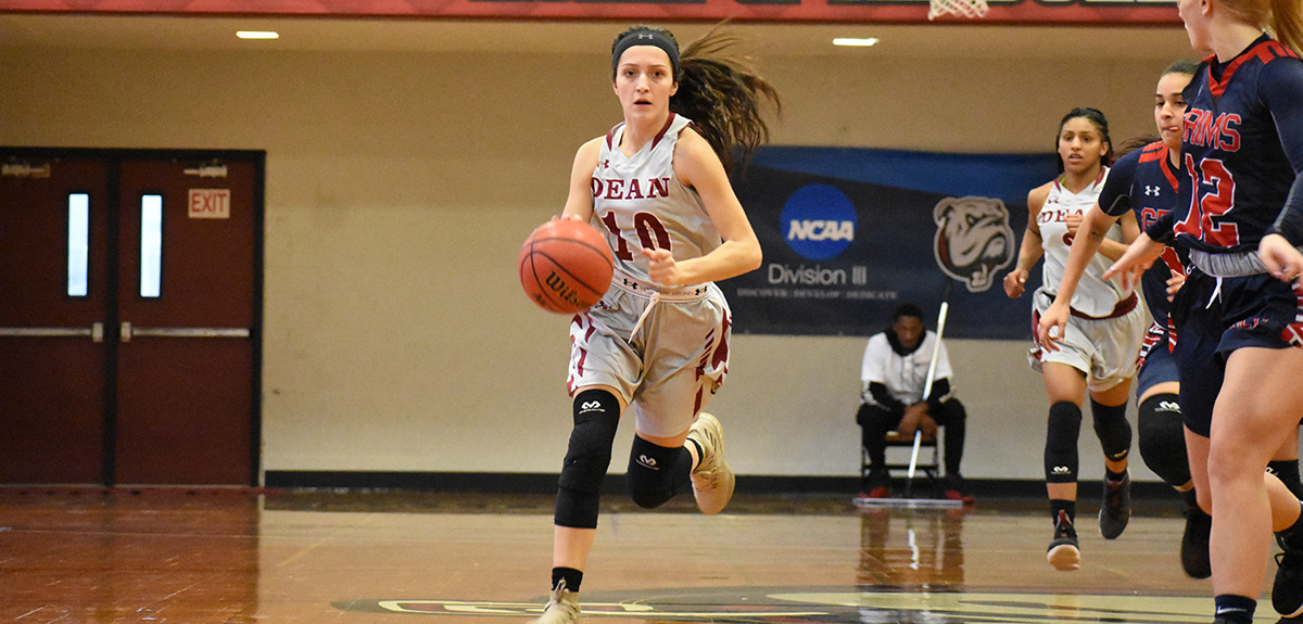 Late Run Pushes Pilgrims Past Women's Basketball, 73-65