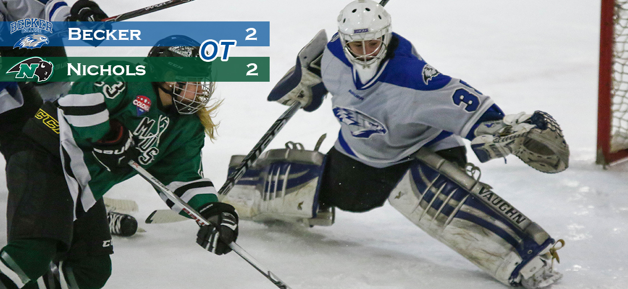 Women's Hockey Skates To a 2-2 Stalemate With Bison