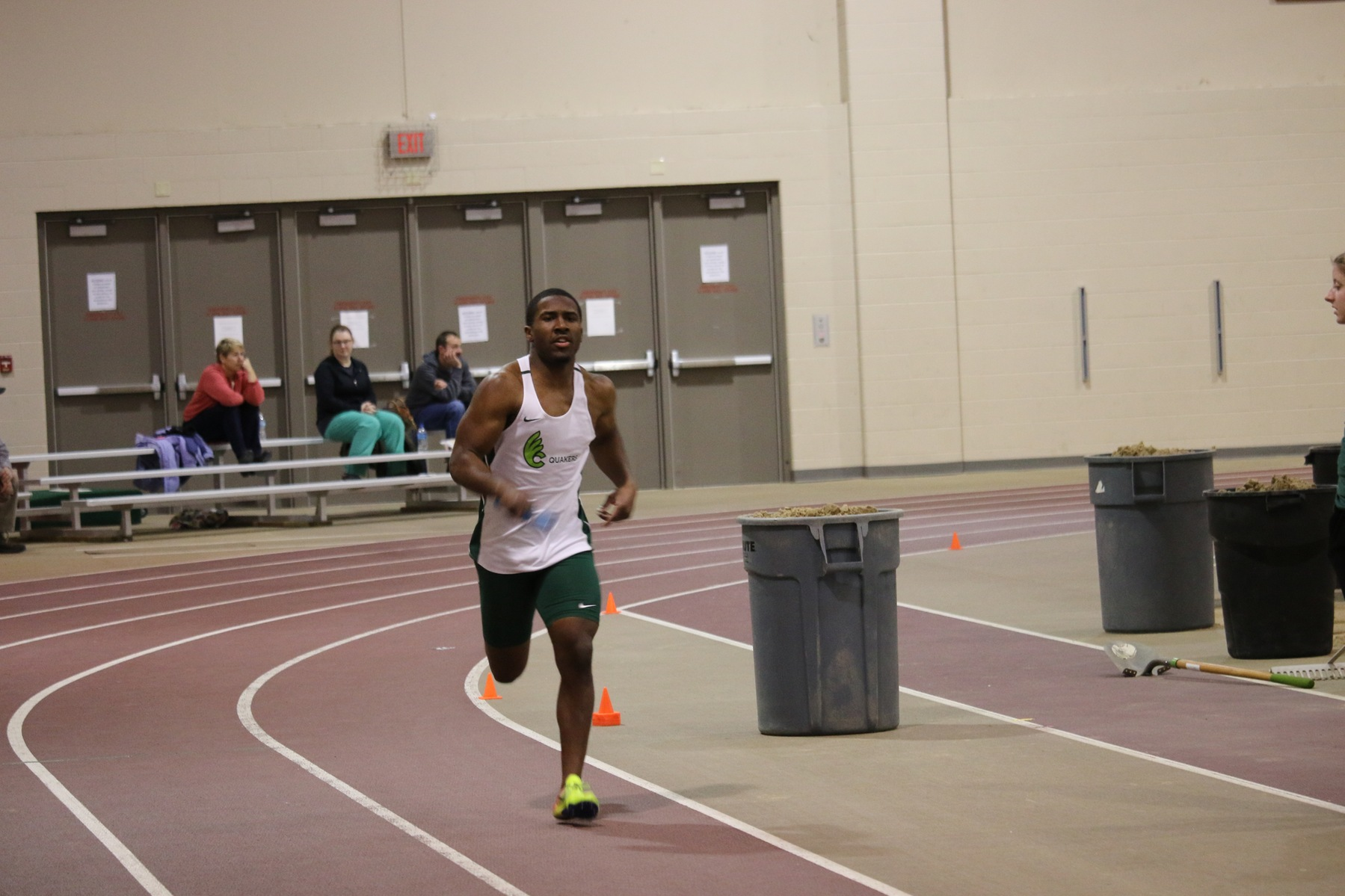 Men's Track and Field Fifth After Day One Season Opener