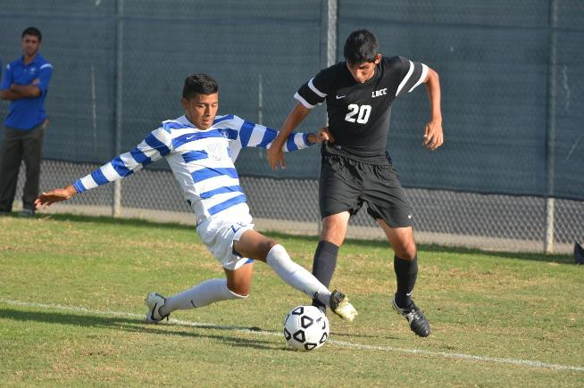 Pair of first half goals hold up for the Falcons in their 2-1 win over LB City