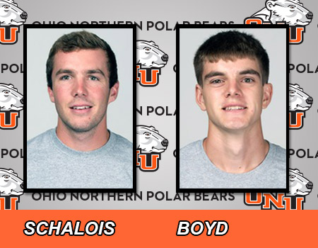 Schalois and Boyd lead No. 32 Men's Outdoor Track & Field at All-Ohio Championships