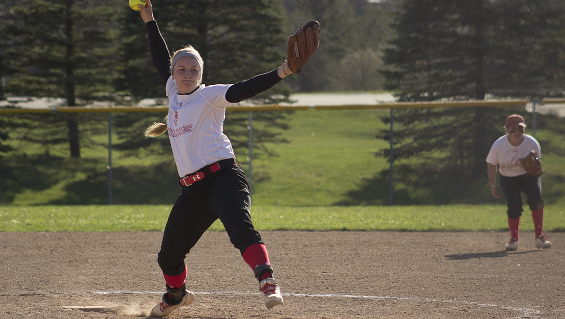 Ferris State Softball Notches Big Home Sweep Over Walsh To Climb In GLIAC Standings