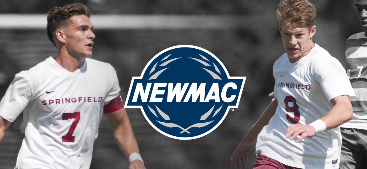 Powell and Alvaro Garner NEWMAC Men's Soccer Weekly Honors