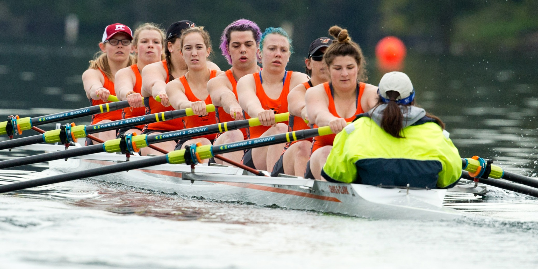 Pioneers women's varsity eight will race in WIRA Championships grand final