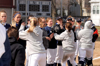Brandeis softball earns top seed in ECAC Tournament