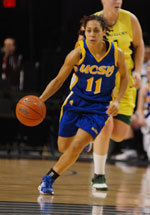 UCSB Travels to Montana For Lady Griz Holiday Classic