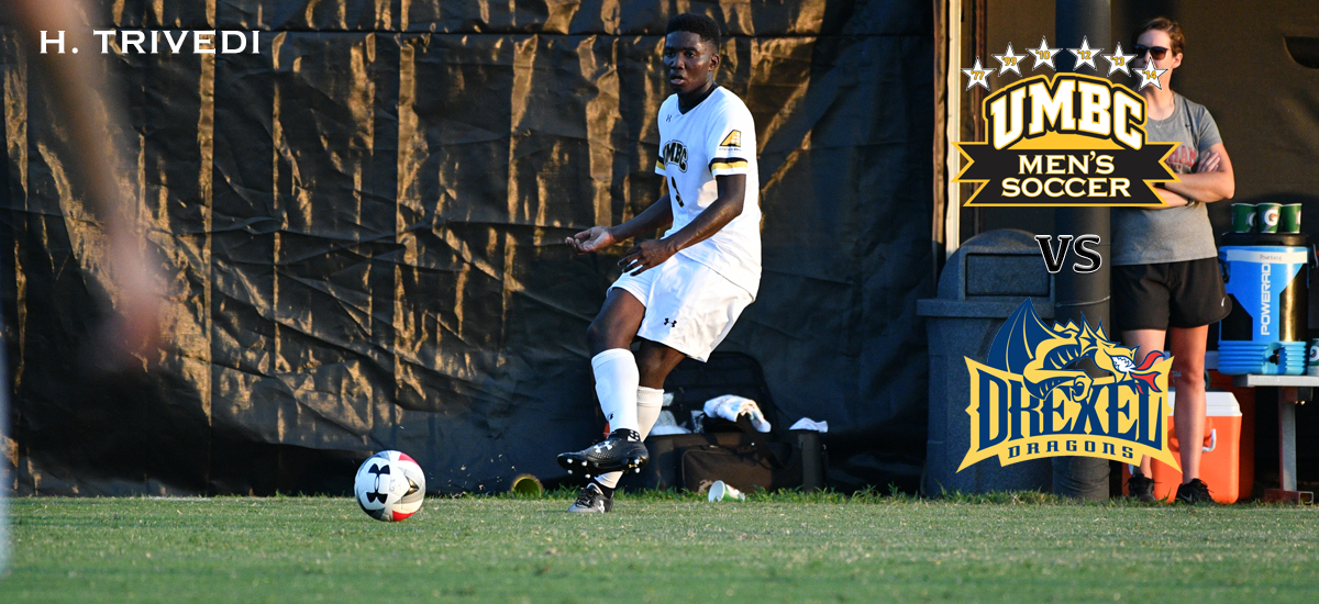 UMBC Men's Soccer Travels to Philadelphia for Final Non-Conference Match Against Drexel on Tuesday