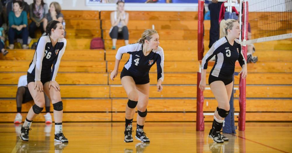 Women's Volleyball Tops USciences, 3-1