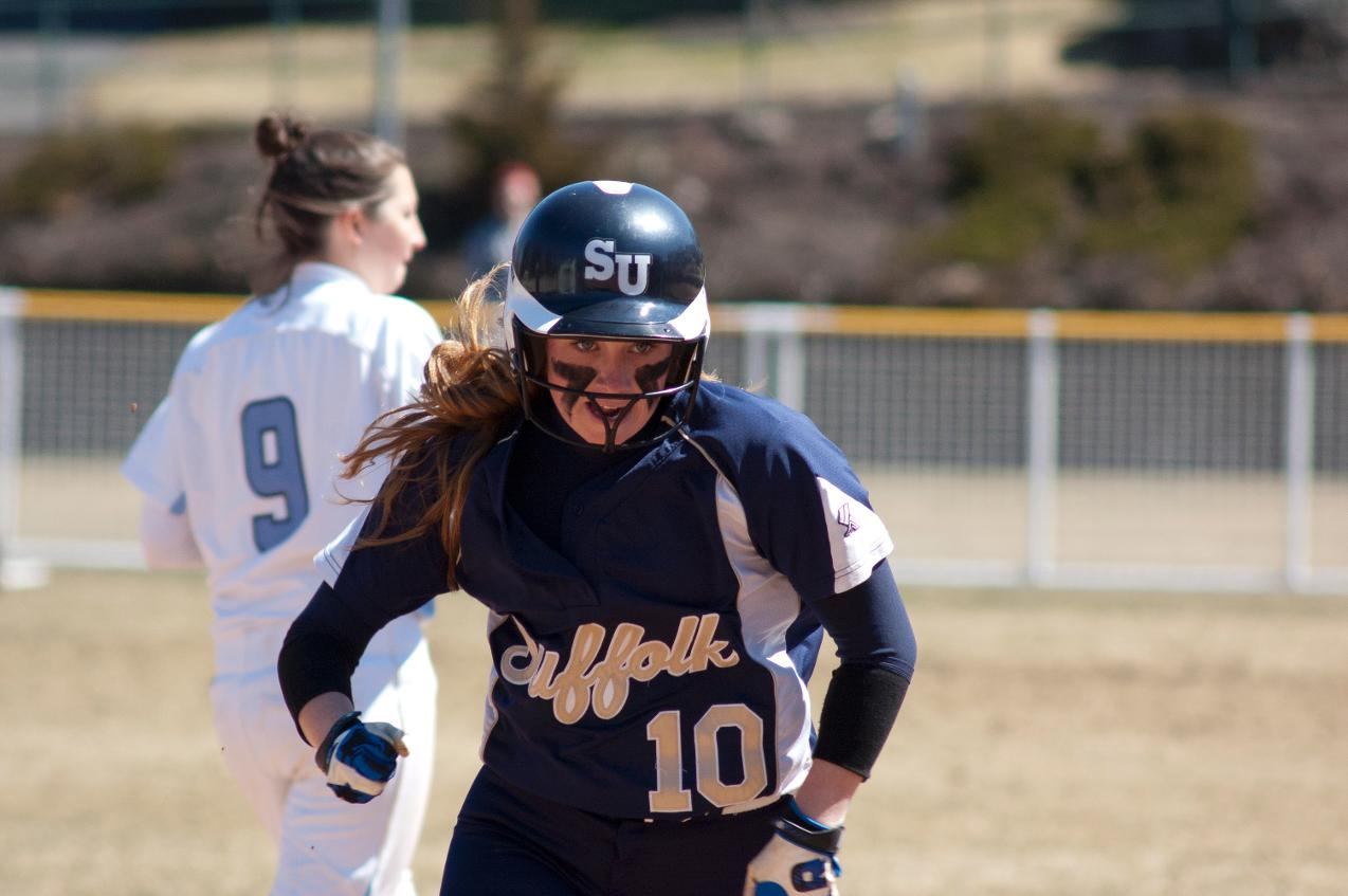 Softball Takes Two From Rivier On Thursday