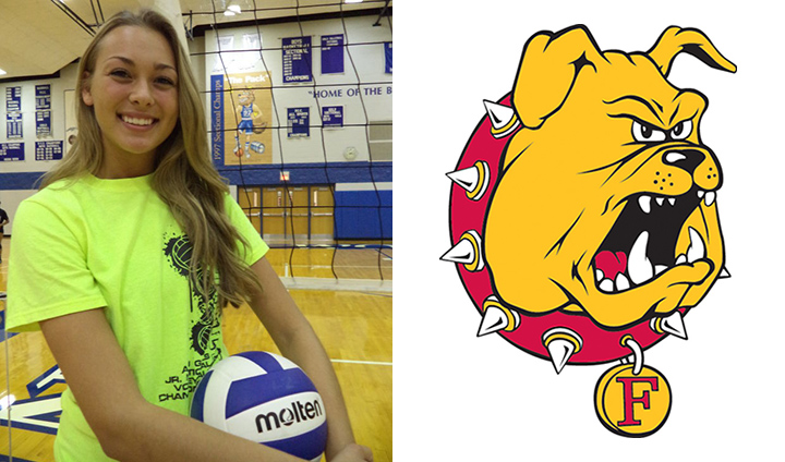 Regional Champion Ferris State Adds Prep Out-Of-State Middle Hitter Nicole Malouhos