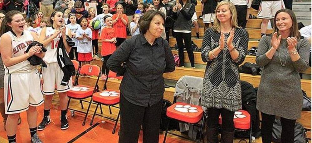 Bsu Hall Of Famer Elaine Clement Holbrook Breaks State Record For Wins Bridgewater St