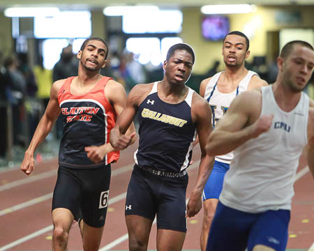 Gallaudet faces tough competition at George Mason Last Chance Indoor Meet, set personal records