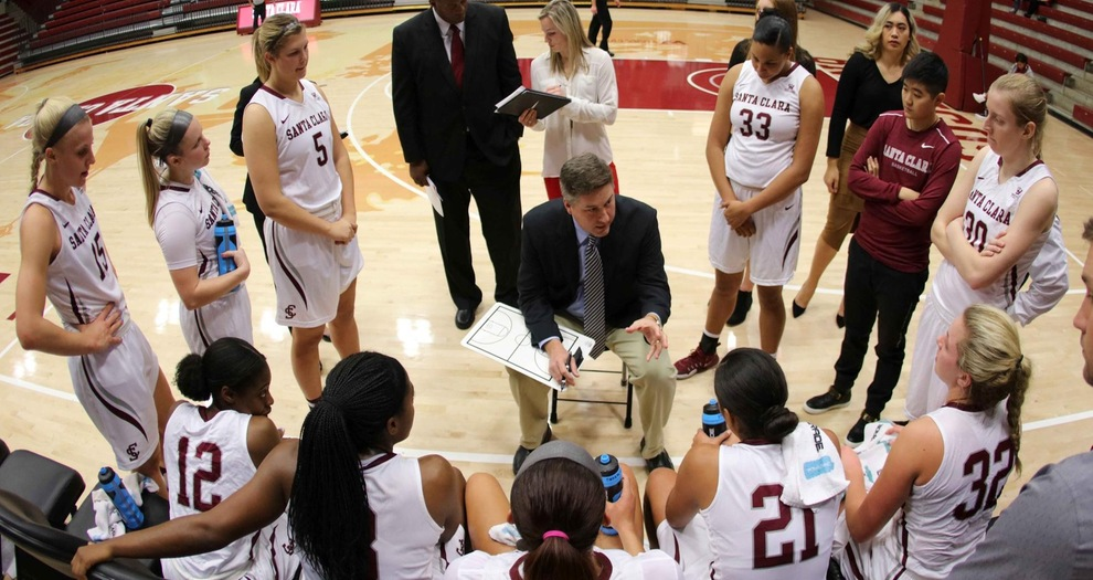 Women's Basketball Faces Saint Mary's Thursday in WCC Tournament Quarterfinals