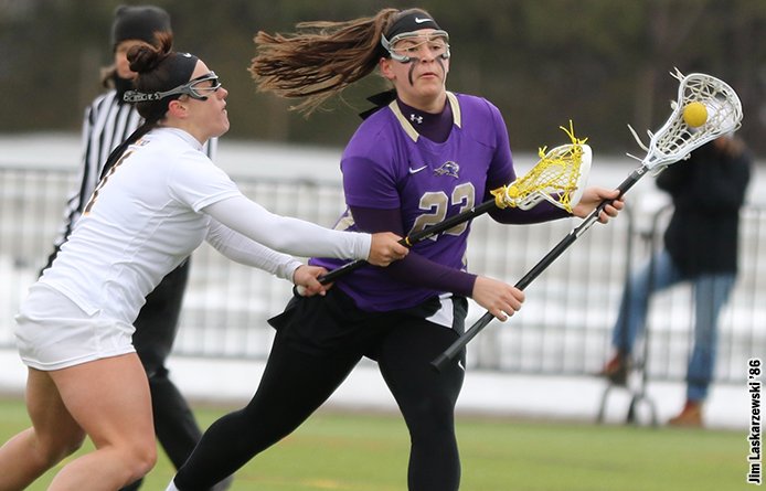 Women's Lacrosse Loses Second Straight High-Scoring Affair with Southern New Hampshire