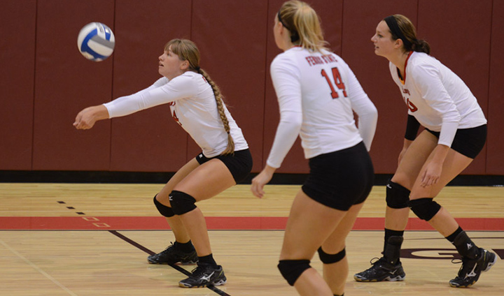 Ferris State Volleyball Pushes Win Streak To Five-Straight Win GLIAC Road Sweep