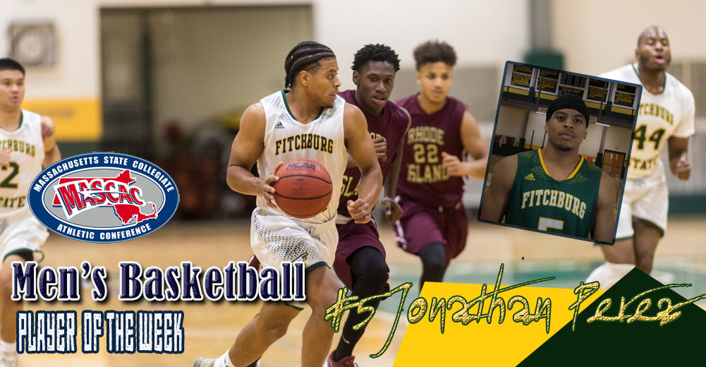 Perez Selected MASCAC Men's Basketball Player Of The Week