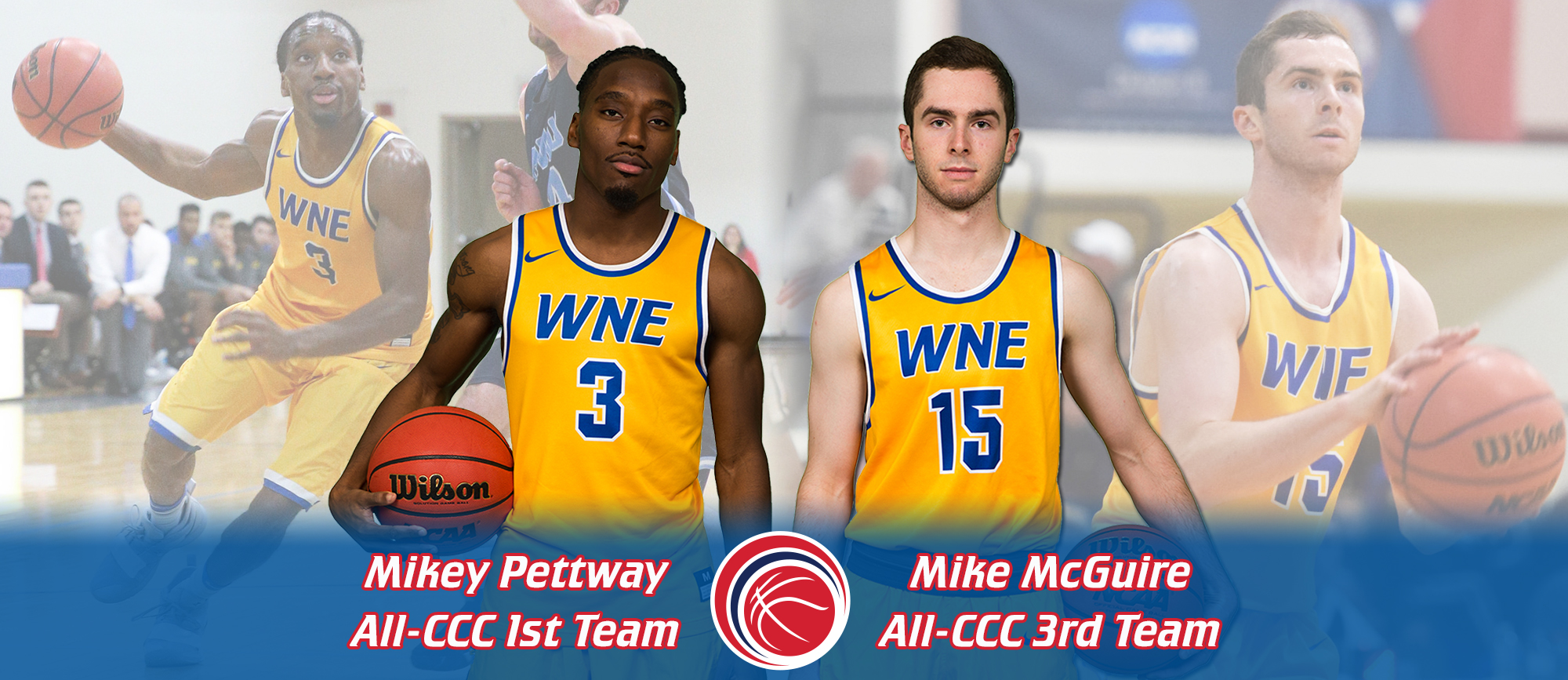 Pettway & McGuire Earn All-CCC Accolades