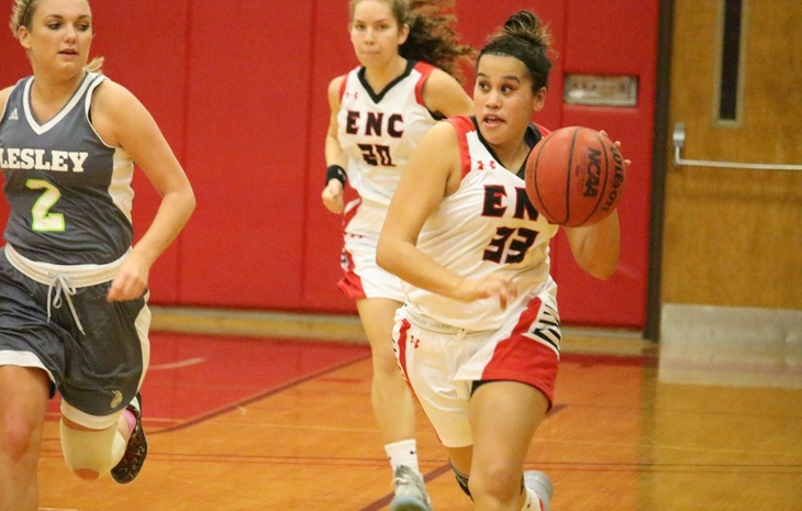 Women's Basketball Powers Past Lesley, 89-52
