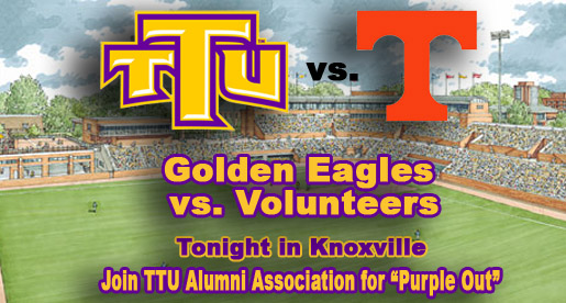 Golden Eagle fans to paint Knoxville purple when Tech meets Vols