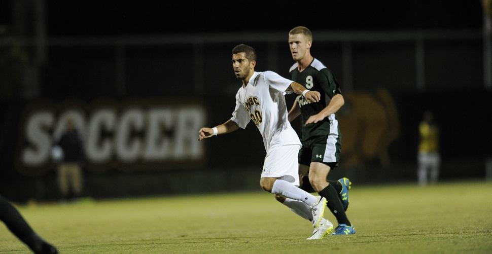 Caltabiano's Late Goal Gives Men's Soccer 2-1 Triumph Over Hartford