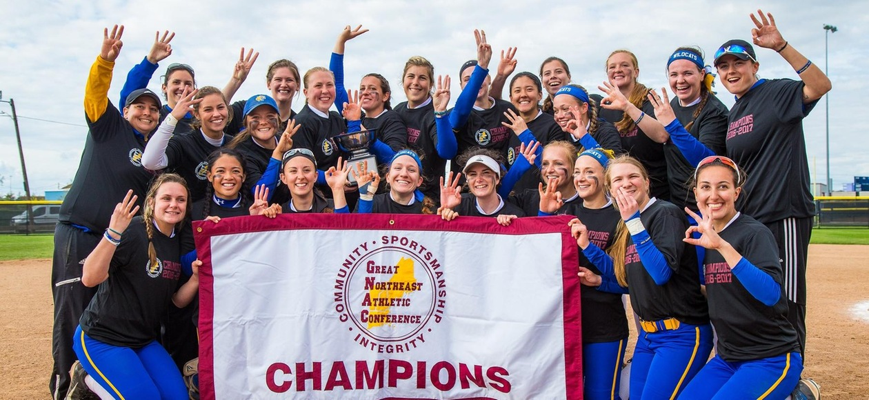 Three Peat! JWU Softball Defeats Suffolk 15-5 to Win GNAC Crown