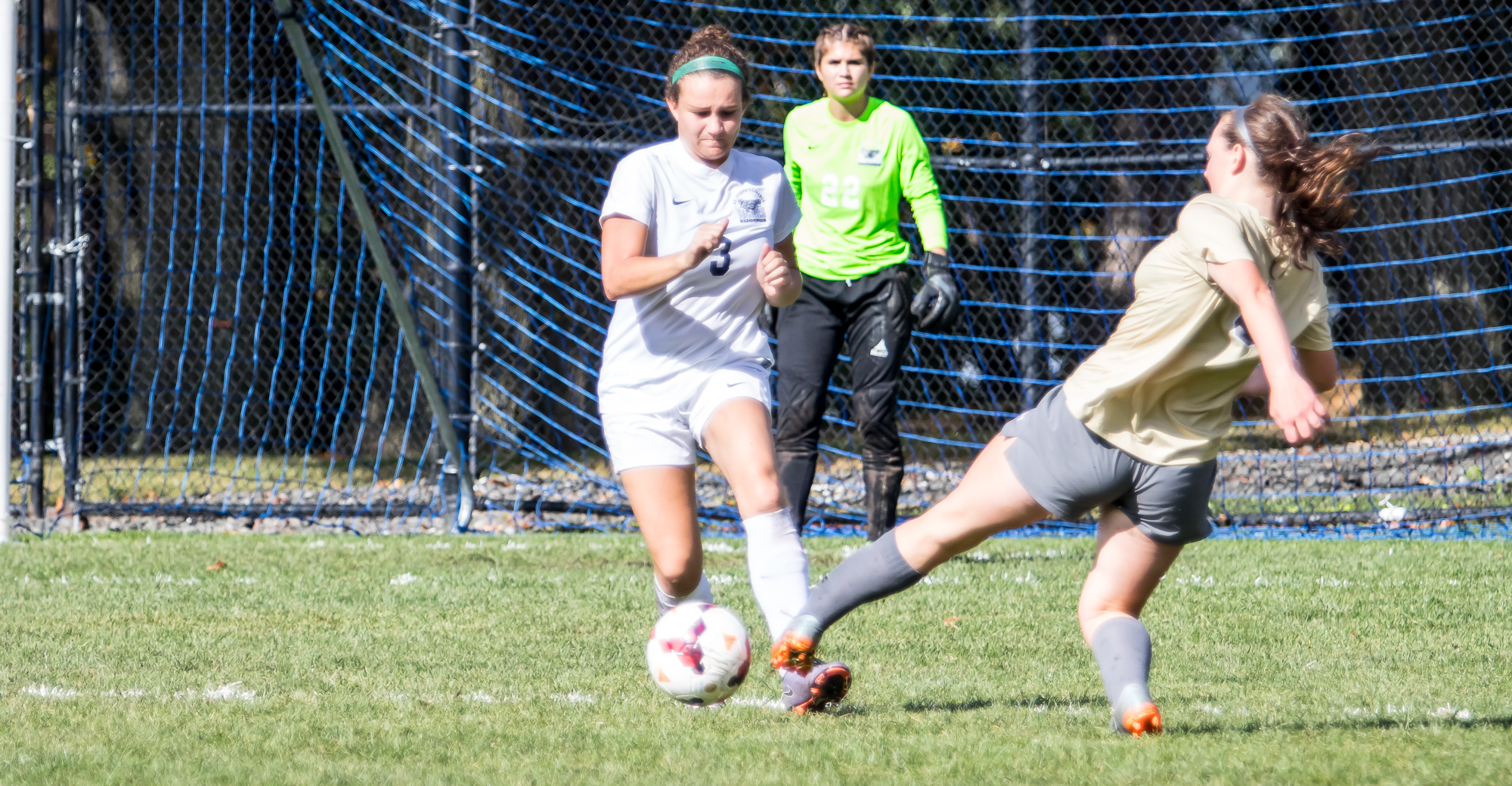 Mount Saint Vincent Tops Women's Soccer 2-0