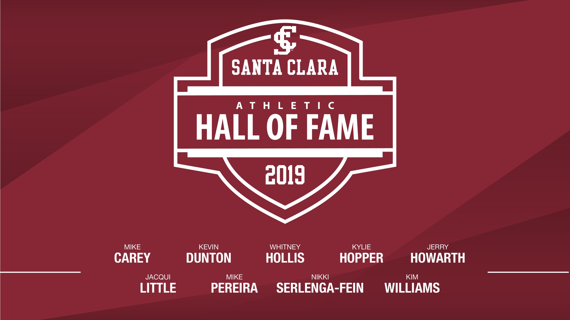 Red and White Celebration Features 2019 Athletic Hall of Fame Induction