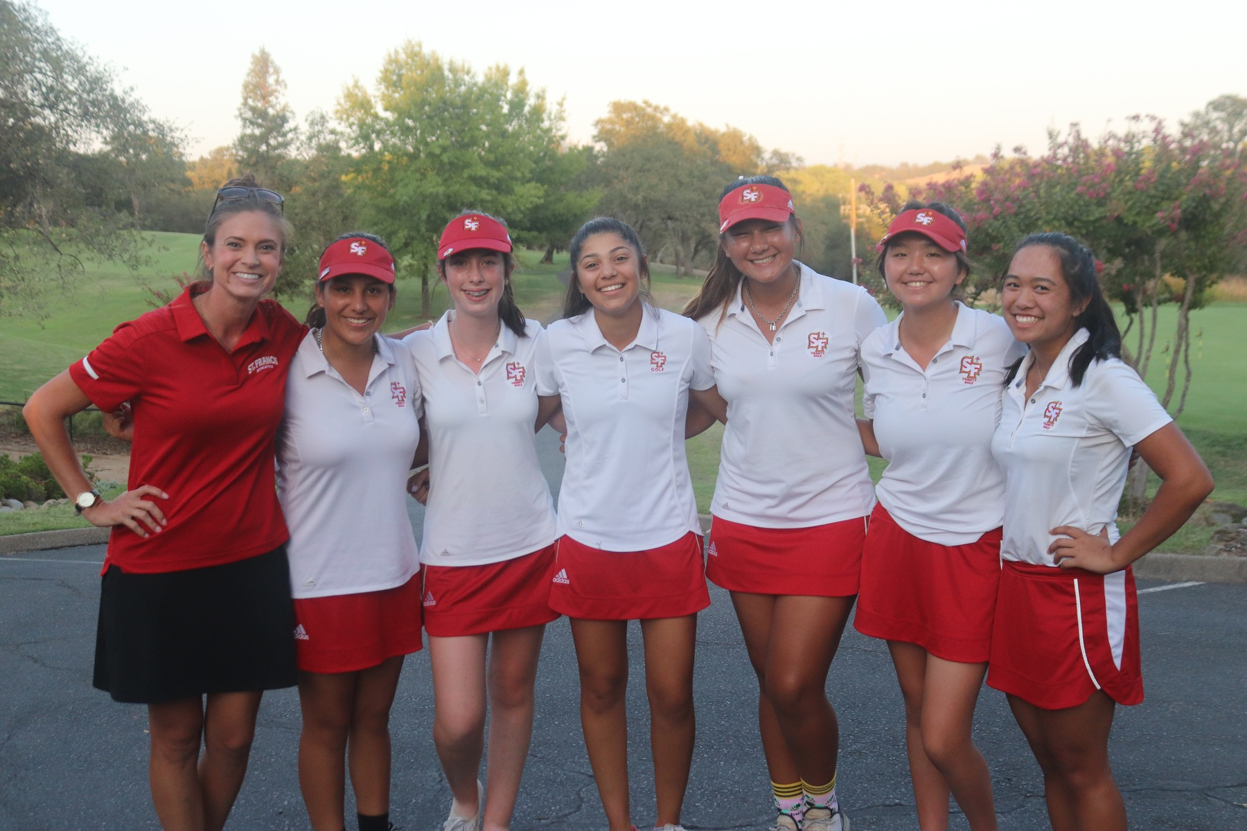 Golf Remains Undefeated with Delta League Center Win