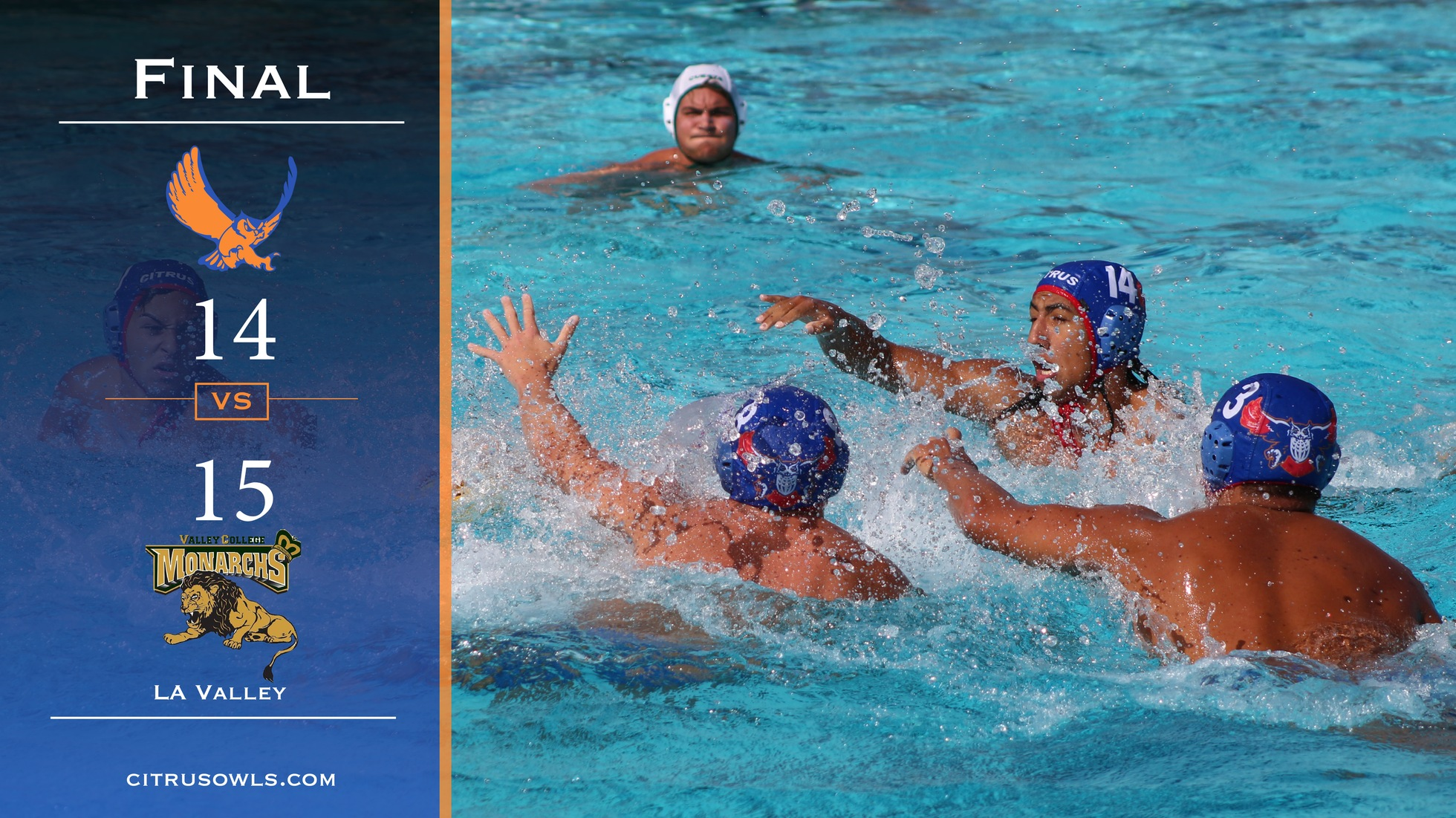 Men's Poloists Lose Conference Final To LA Valley In Sudden Death Blood Bath